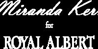 Miranda Kerr for Royal Albert