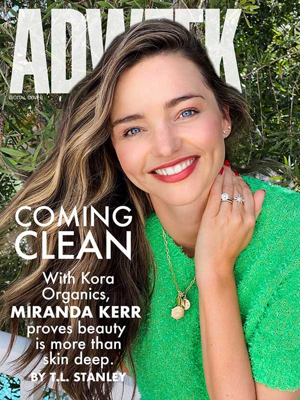 Miranda Kerr digital cover of Adweek